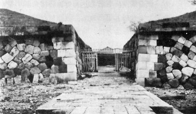 古写真:昭和初年の第三台場波止場