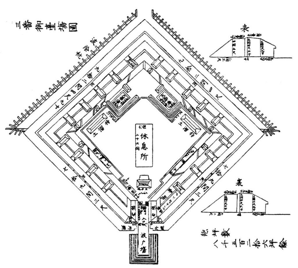 第三台場図