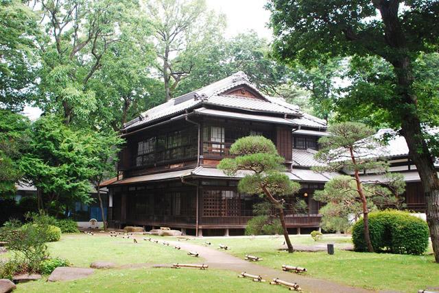 江戸東京たてもの園に移設された高橋是清邸。