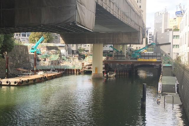 常盤橋復元工事