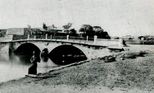 明治十一年の常盤橋