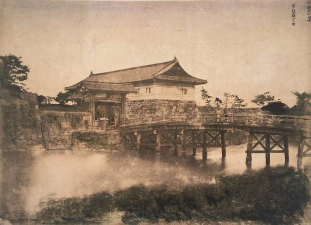 明治四年の常盤橋