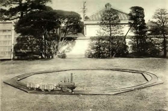 佐賀鍋島藩の陸蒸気模型