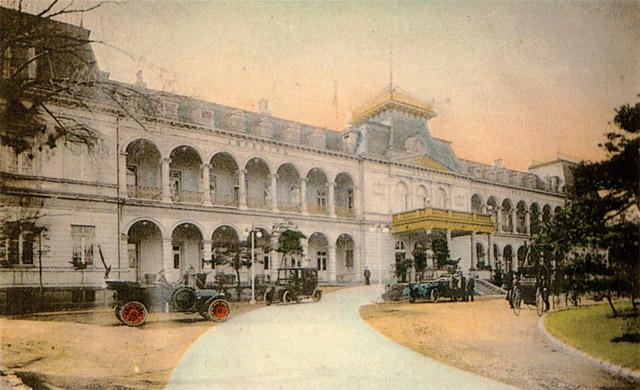 古写真:初代の帝国ホテル