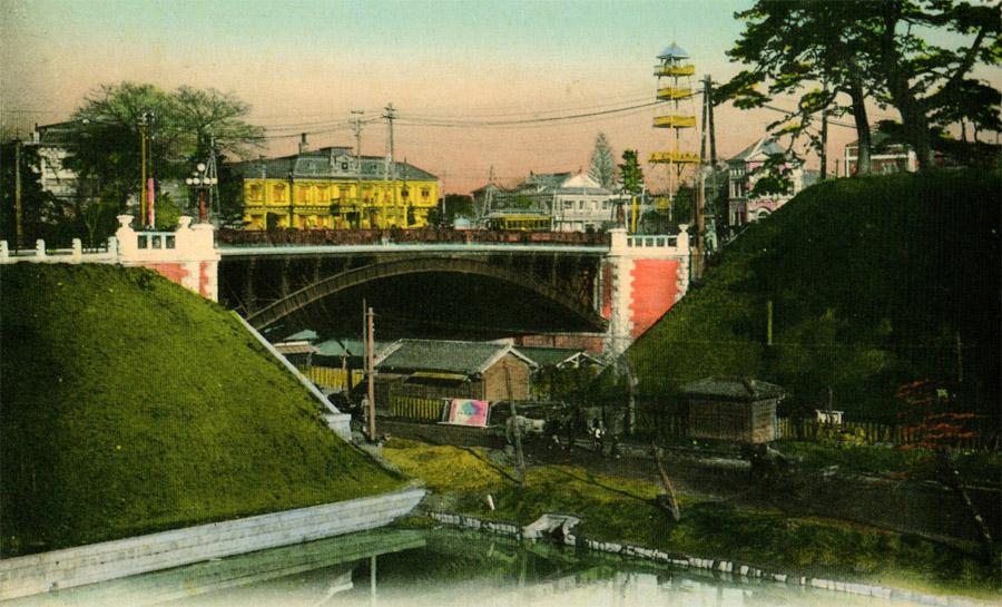 古写真:大正四年の四谷駅