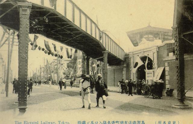 開業時の有楽町駅