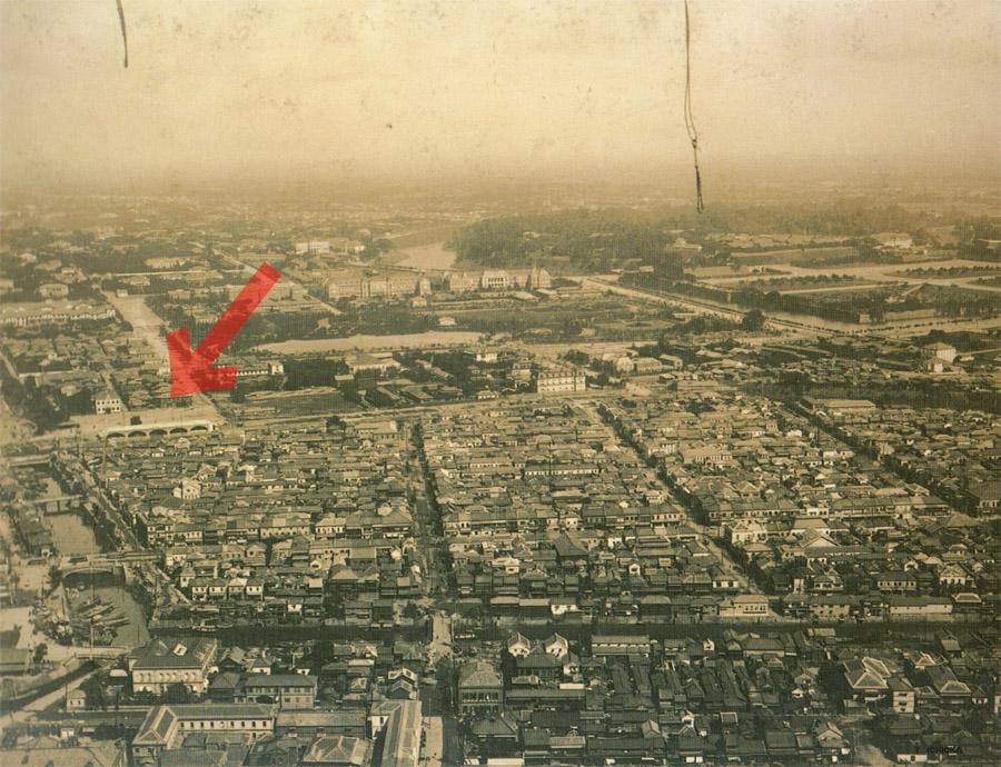 日本初の空中写真