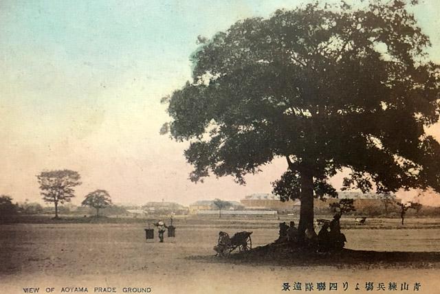 絵葉書:青山練兵場