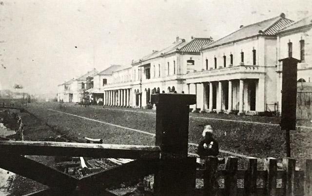 明治六年(1873年)の銀座