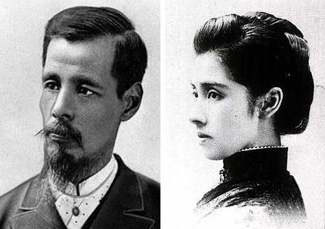 陸奥宗光と夫人・亮子
