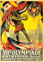 アントワープオリンピックポスター